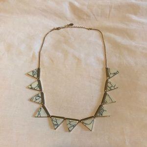 2/25$ 🎀 Aldo marble necklace
